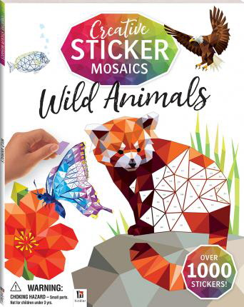 Wild Animals (Creative Sticker Mosaics)