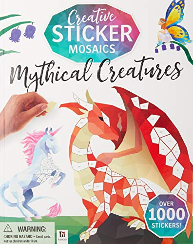 Mythical Creatures (Creative Sticker Mosaics)