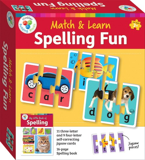 Match & Learn Spelling Fun (Hinkler Building Blocks)