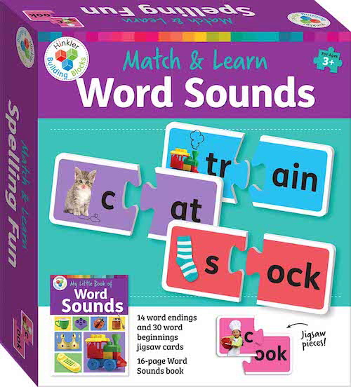 Match & Learn Word Sounds (Hinkler Building Blocks)
