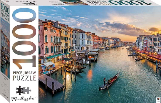 Grand Canal, Italy 1000 Piece Jigsaw Puzzle (Mindbogglers)