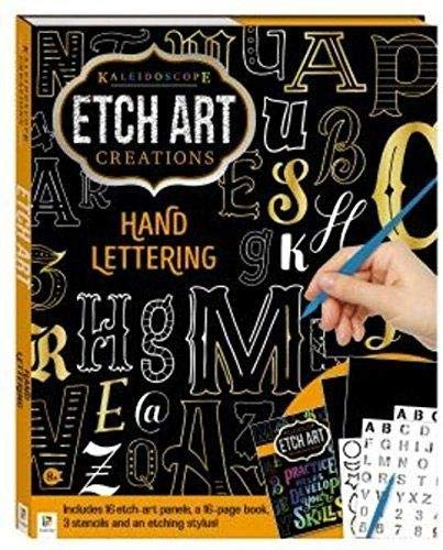 Etch Art Hand Lettering (Kaleidoscope Creations)