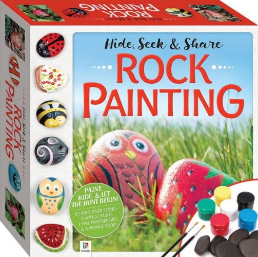 Rock Painting (Hide, Seek & Share)