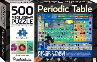 Periodic Table: 500 Piece Jigsaw Puzzle (Puzzlebilities)