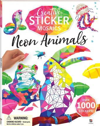 Neon Animals (Creatice Sticker Mosaics)