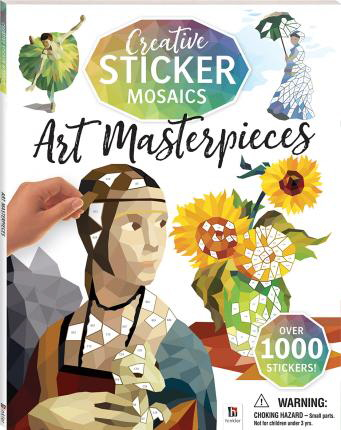 Art Masterpieces (Creative Sticker Mosaics)