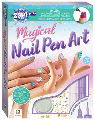 Magical Nail Pen Art (Zap! Extra)
