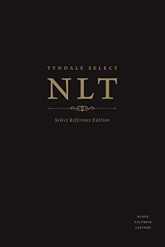 Tyndale NLT Select Reference Edition (Thumb Indexed, Black Calfskin Leather)