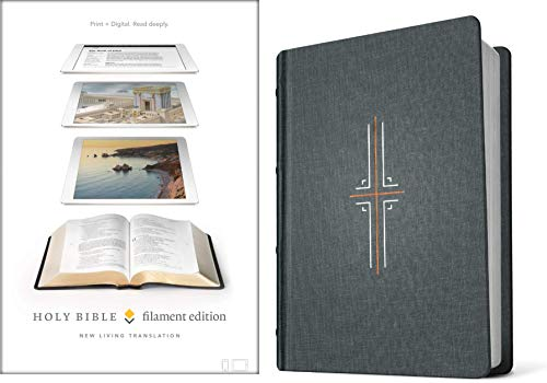 NLT Filament Edition Holy Bible (Gray Cloth)