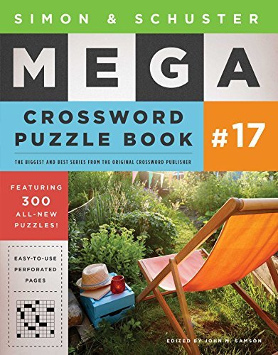 Simon & Schuster Mega Crossword Puzzle Book #17