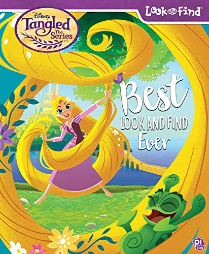 Best Look and Find Ever: Disney Tangled The Series (Look and Find)