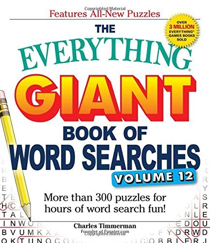 The Everything Giant Book of Word Searches (Volume 12)