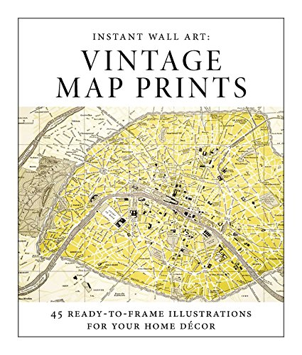 Instant Wall Art: Vintage Map Prints