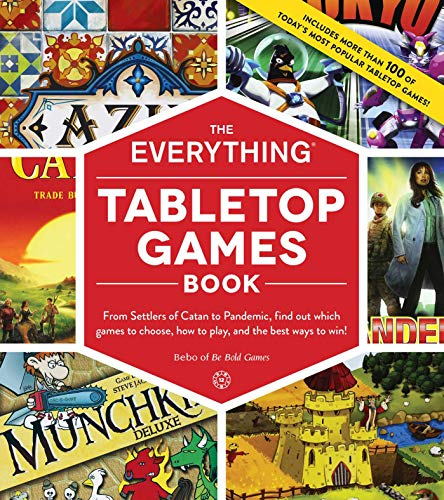 Tabletop Games Book (The Everything)