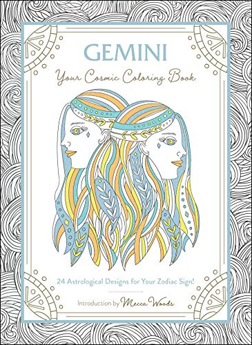Gemini: Your Cosmic Coloring Book