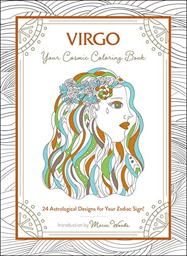 Virgo: Your Cosmic Coloring Book