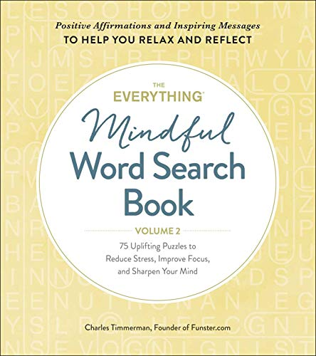The Everything Mindful Word Search Book (Volume 2)