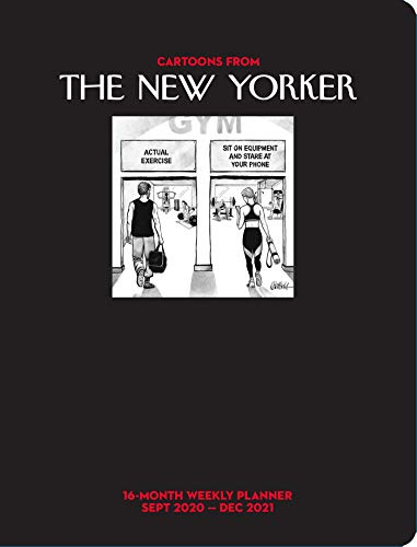 Cartoons from The New Yorker 16-Month 2020-2021 Weekly Planner Calendar