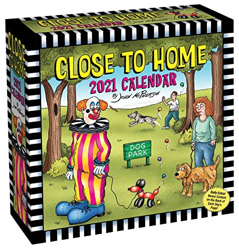 Close to Home 2021 Day-to-Day Calendar