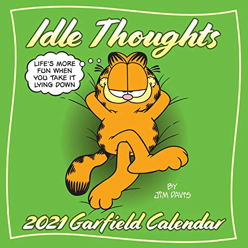 Idle Thoughts: Garfield 2021 Wall Calendar