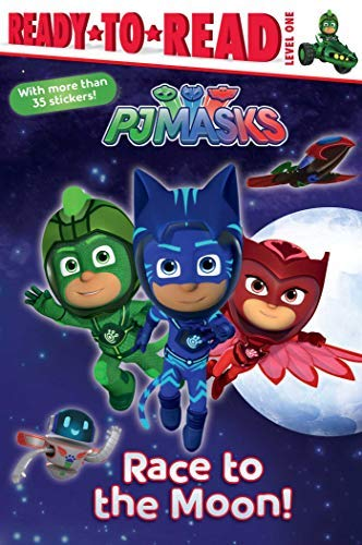 Race to the Moon! (PJ Masks, Ready-to-Read! Level 1)