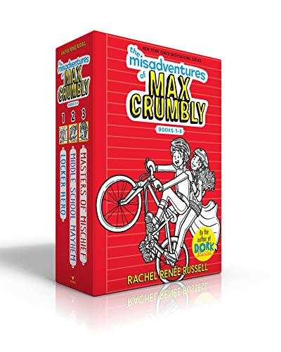 The Misadventures of Max Crumbly (Locker Hero/Midle School Mayhem/Masters of Mischief)