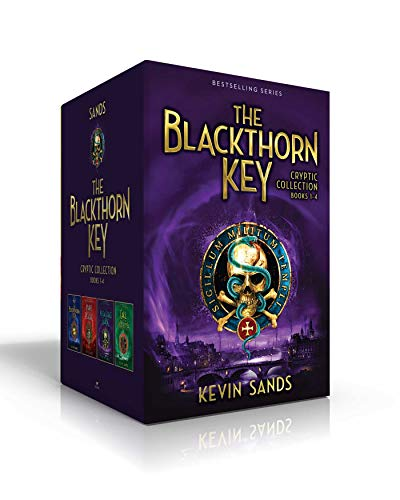 The Blackthorn Key Cryptic Collection Books 1-4: The Blackthorn Key/Mark of the Plague/The Assassin's Curse/Call of the Wraith