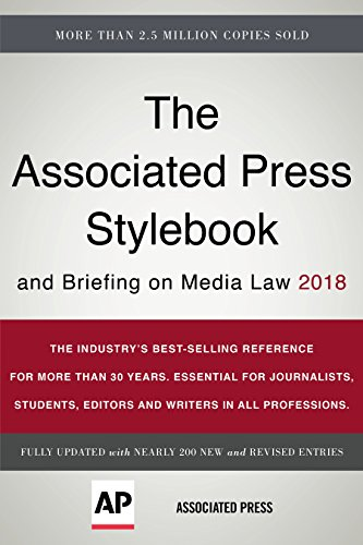 The Associated Press Stylebook and Briefing on Media Law 2018
