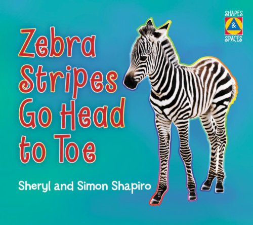 Zebra Stripes Go Head to Toe (Shapes and Spaces)