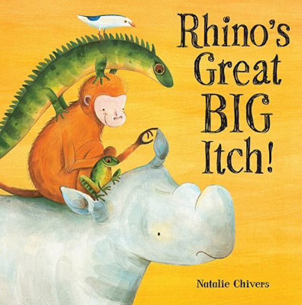Rhino's Great Big Itch!