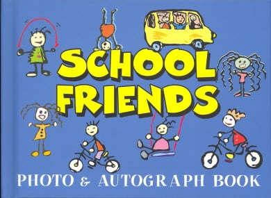 School Friends Photo & Autograph Book