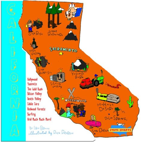 California (State Shapes)