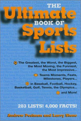 The Ultimate Book of Sports Lists