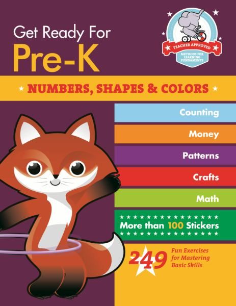 Numbers, Shapes & Colors (Get Ready for Pre-K)
