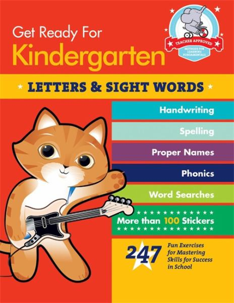 Letters and Sight Words (Get Ready for Kindergarten)