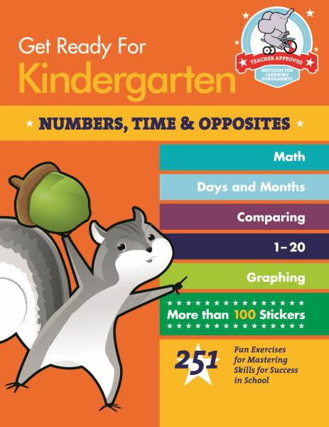 Numbers, Time & Opposites (Get Ready for Kindergarten)