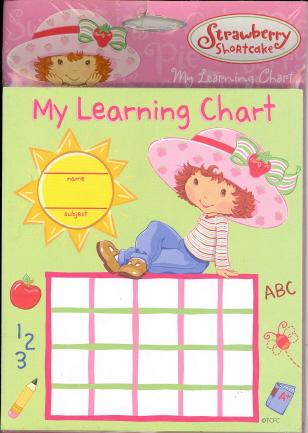 My Learning Chart (Strawberry Shortcake)