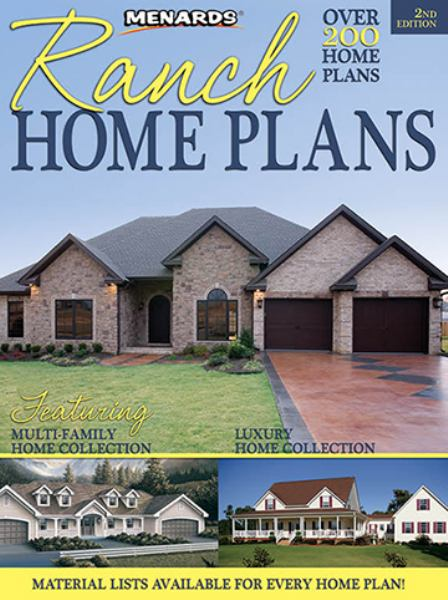 Ranch Home Plans (2nd Edition)