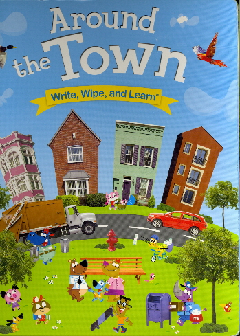 Around the Town (Write, Wipe, and Learn)