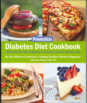 Diabetes Diet Cookbook: Discover the New Fiber-Full Eating Plan for Weight Loss
