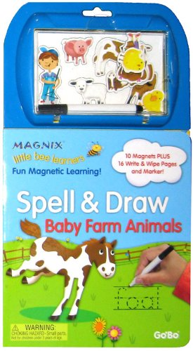 Spell And Draw Baby Farm Animals