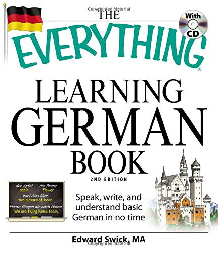 Learning German Book: Speak, write, and understand basic German in no time (The Everything)