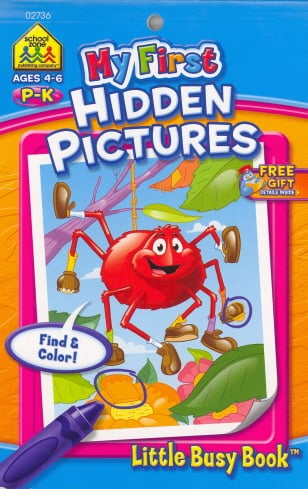 My First Hidden Pictures (Little Busy Book, Grades P-K)