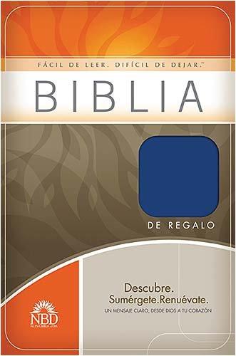 Biblia de regalo y premio NBD (Blue, Spanish Edition)