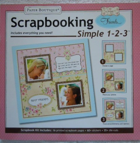 Scrapbooking Simple 1-2-3 Friends