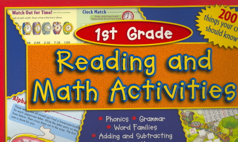 Reading And Math Activities (Grade 1)