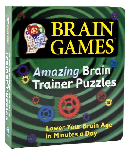 Amazing Brain Trainer Puzzles (Brain Games)