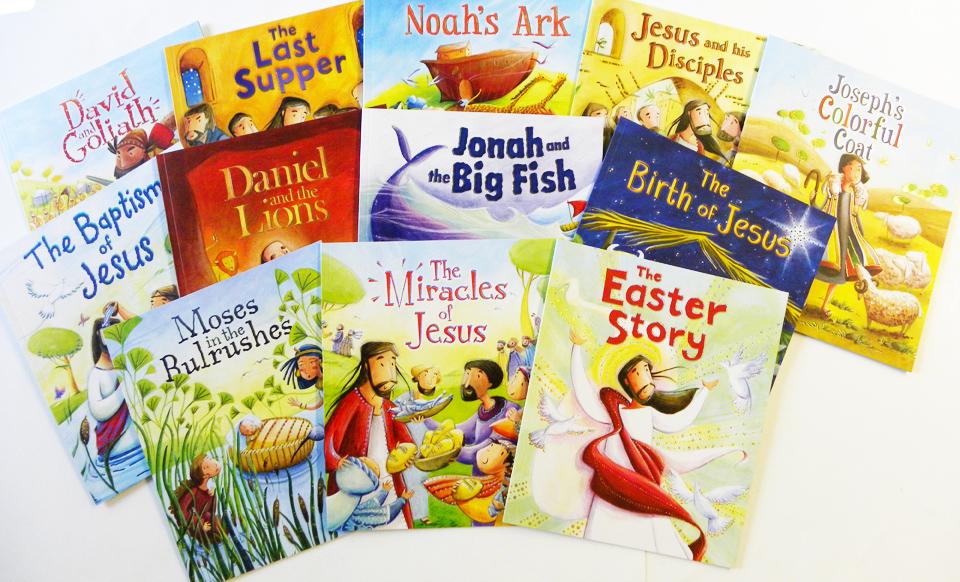 Bible Stories 12 Book Set