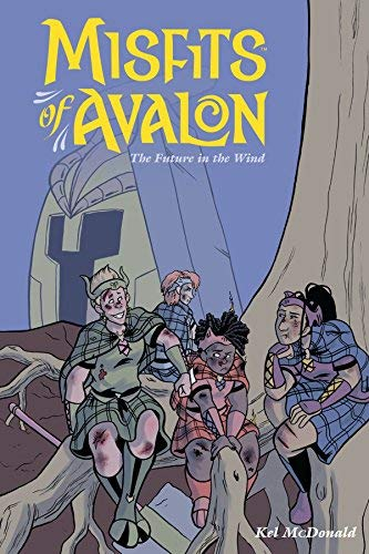 The Future in the Wind (Misfits of Avalon, Volume 3)