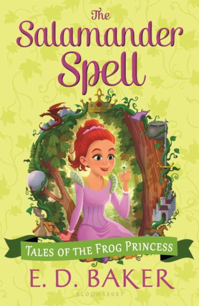 The Salamander Spell (Tales of the Frog Princess, Bk. 5)